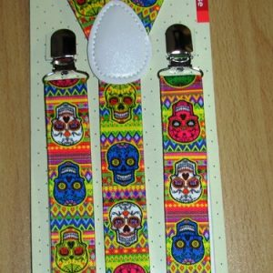 Day of the Dead suspenders