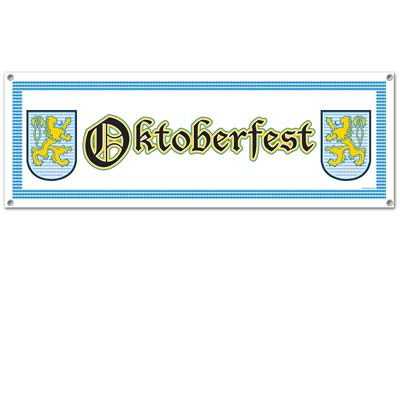 Oktoberfest jumbo sign banner
