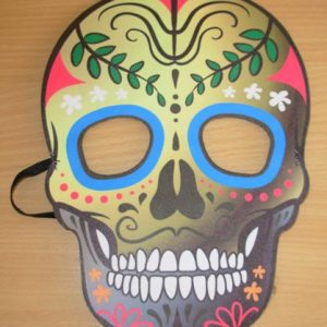 Man'e Day of the Dead mask
