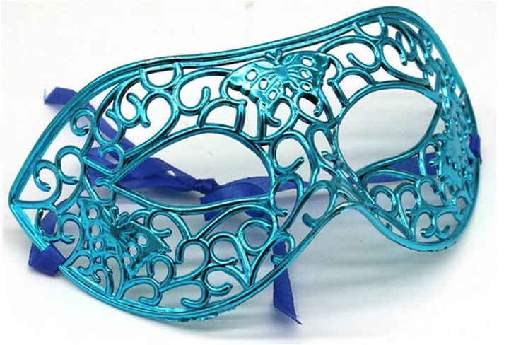 Filigree butterfly masl - turquoise