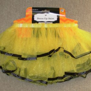 Layered yellow tutu - child