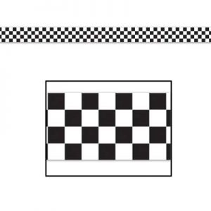 Checkered decorating tape