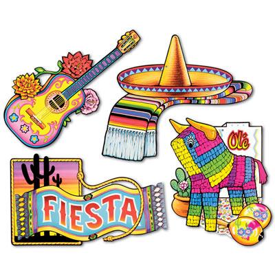 Fiesta cutouts