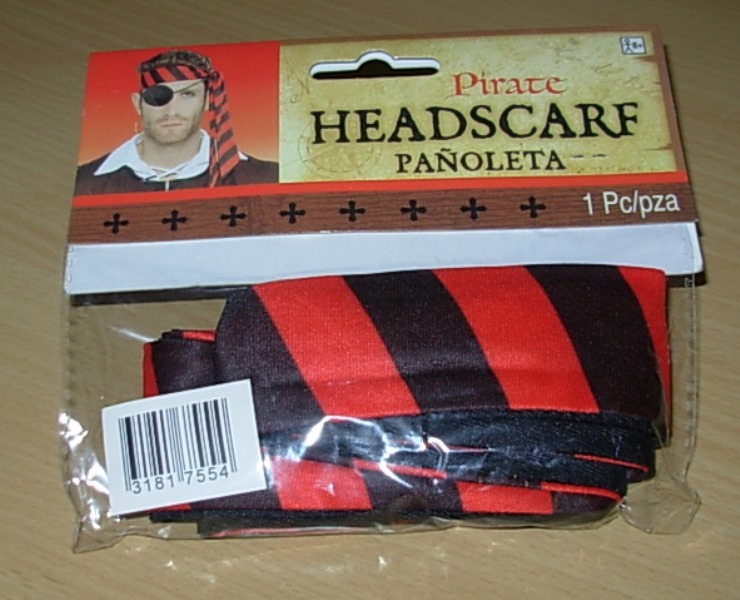 Pirate headscarf
