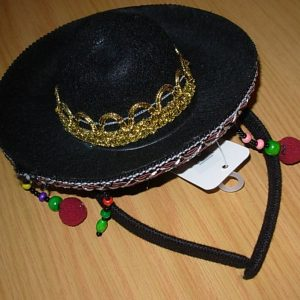 Mini Mexican hat with headband