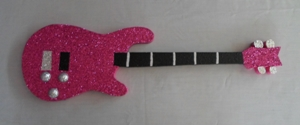 Pink poly Guitar