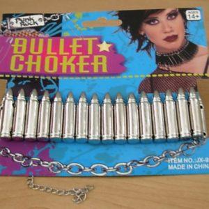 Punk Rock Bullet choker