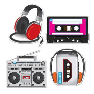 80's Cassette decorations