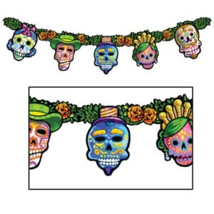 Day of the Dead garland decor
