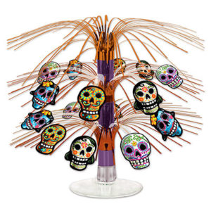 Day of the Dead mini cascade centrepiece