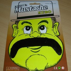 Stick on moustache