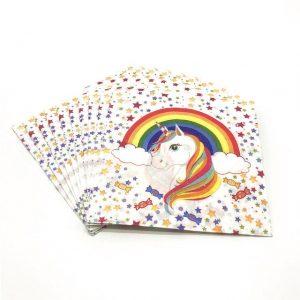 Unicorn serviettes