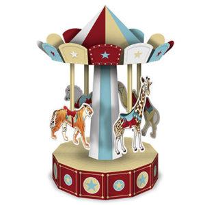 Vintage circus centrepiece