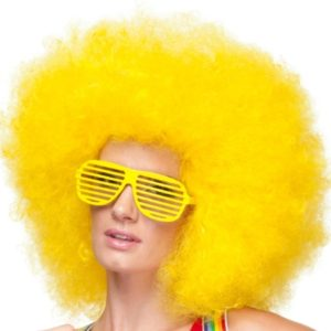 Jumbo afro clown wig