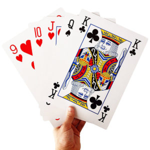 Extra large playing cards
