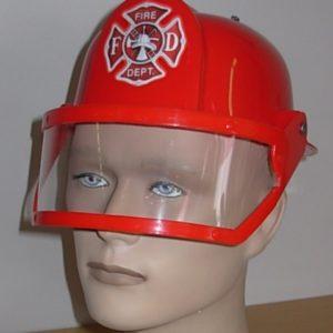 Fire Fighter helmet with visor