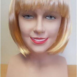 Honey blonde bob wig