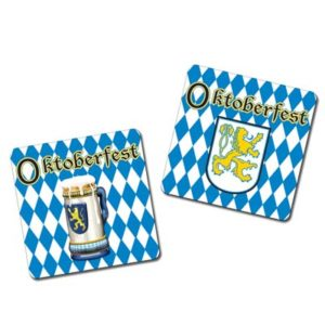 Oktoberfest themed coasters