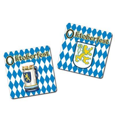 Oktoberfest themed coasters
