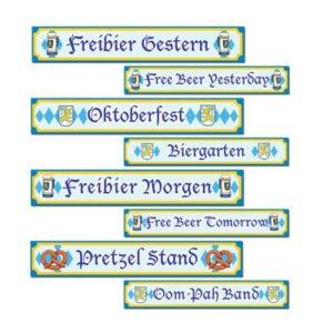 Oktoberfest signs