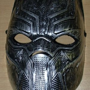 Silver panther mask