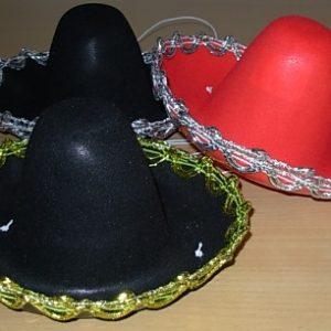 Mini Mexican hats