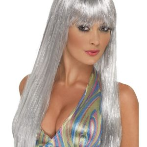 Glitter disco fever wig