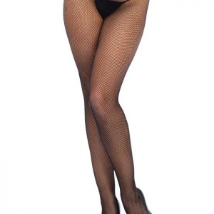 Low Rise lace top net stockings