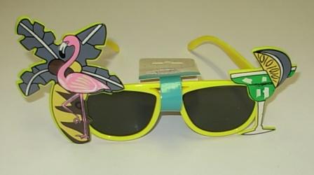 Hawaiian party glasses