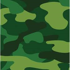 Camouflage print napkins